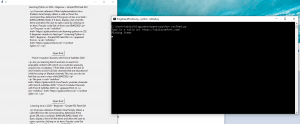Running python script for RSS Feed GUI